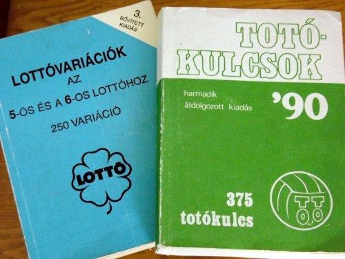 Totókulcsok, lottóvariációk