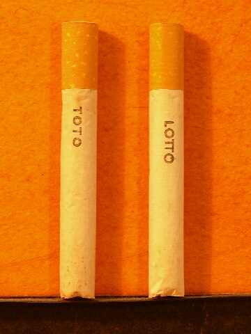 Toto Lotto cigaretta
