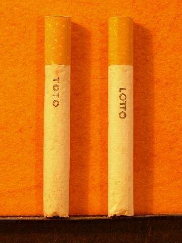 Toto Lotto cigaretta