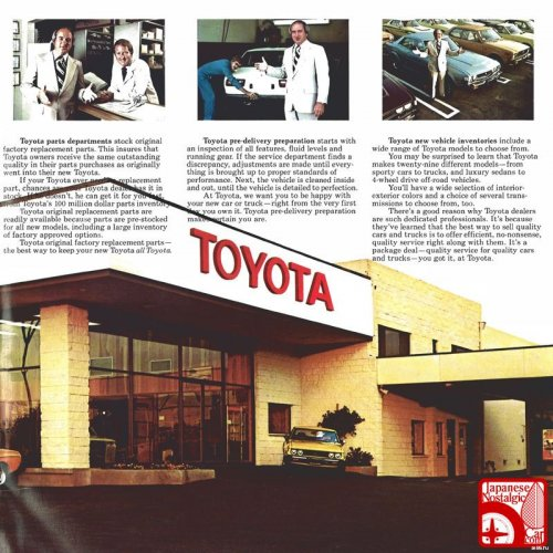 Toyota katalógus - II