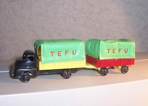 TEFU teherautó trafikáru