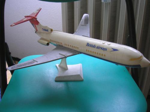 Trident repülőmakett