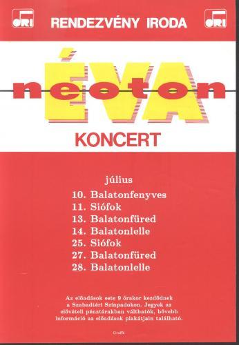 Éva Neoton miniplakát