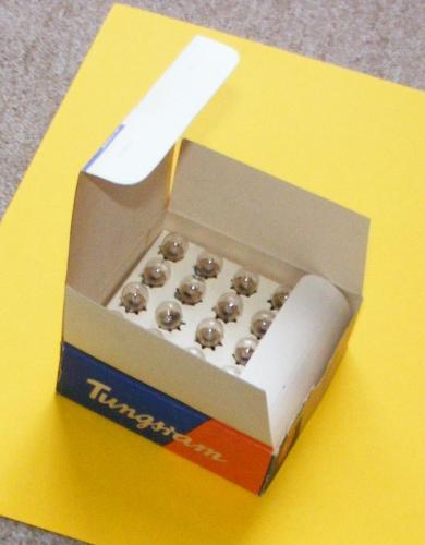 Tungsram 6V-os izzók