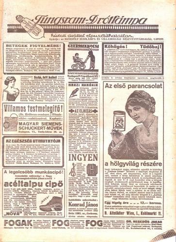 Tungstram és más hirdetések