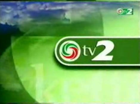 TV2 első arculat