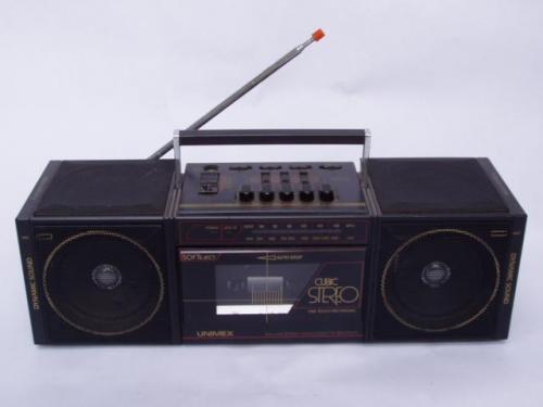 Unimex sztereó rádiósmagnó