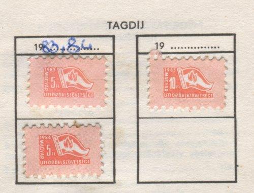 Úttörő tagsági bélyeg