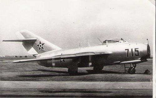 Mig-15 vadászrepülőgép
