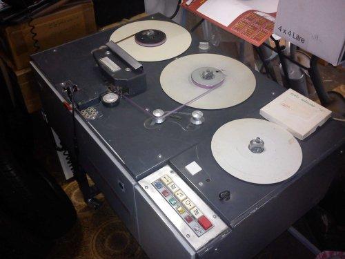 Mechlabor STM-231 vágó-szerkesztő stúdiómagnó