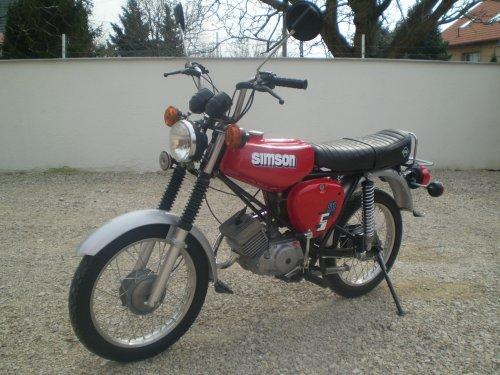 Simson motorkerékpár - S51 Electronic