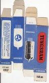 Tungsram rádiócső dobozok