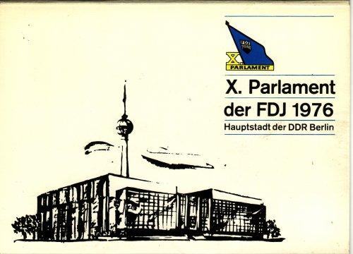 Meghivó FDJ  X. kongresszusára