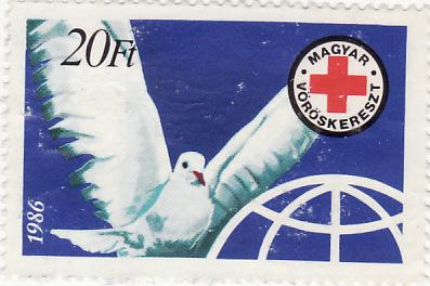 Vöröskereszt szolidaritási bélyeg