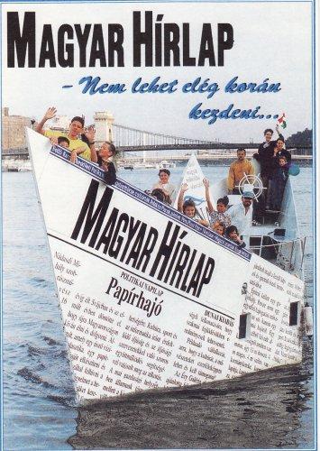 Magyar Hirlap előfizetési szelvény