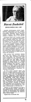 Dénes Zsófia nekrológja
