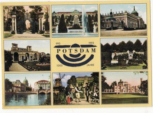 Potsdam ezer éves