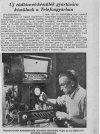 Telefongyárban új rádiókészülék készül