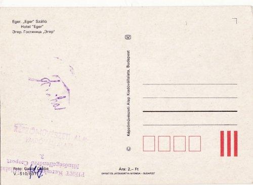 Minőségellenőrzött képeslap