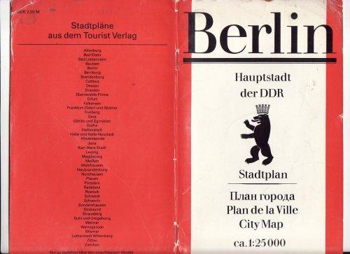Kelet Berlini térkép