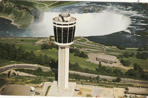 Niagara vizesés a kilátótoronnyal