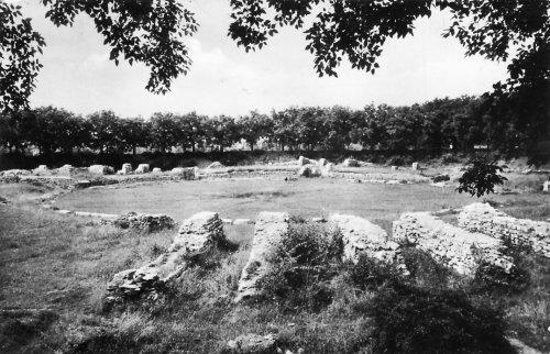 Óbuda polgárvárosi amfiteátrum romjai