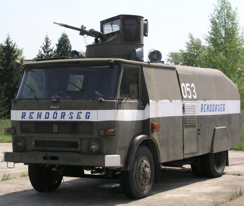 Rendőrségi vízágyú
