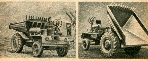 Dutra dömper  - Vörös Csillag Traktorgyár
