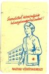 Vöröskereszt kártyanaptár