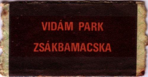 Vidám Park zsákbamacska