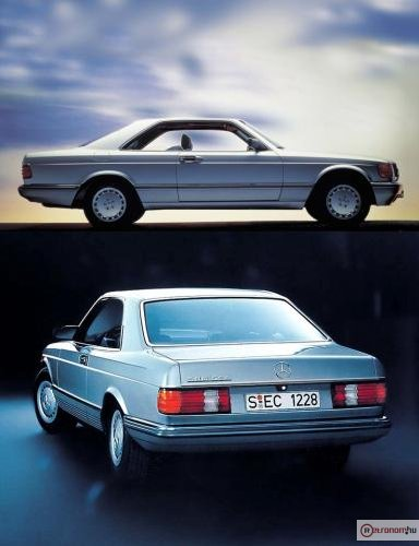 w126 mercedes coupe