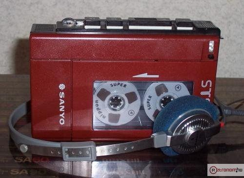 Sanyo walkman