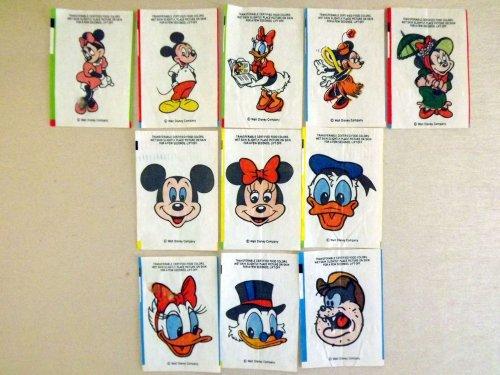 Walt Disney tetoválós rágó