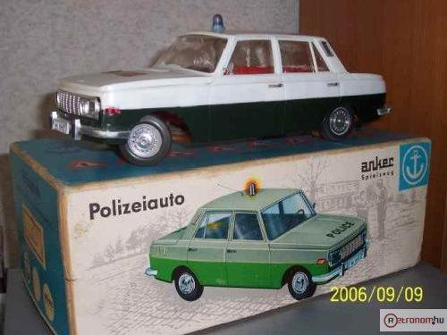 Wartburg 353 Police távirányítós
