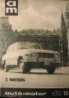 Autó Motor újság - Wartburg 353