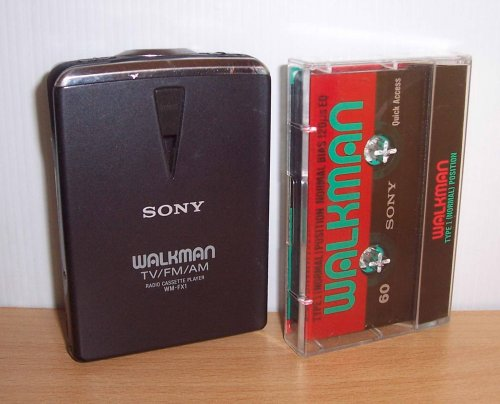 Sony walkman WM-FX1 rádiós  - japán belpiacos modell
