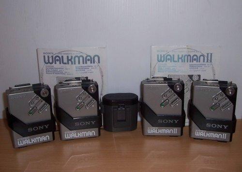 Sony walkman WM-2  változatok