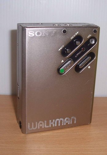 Sony WM-5 walkman - az első fémházas kicsi walkman