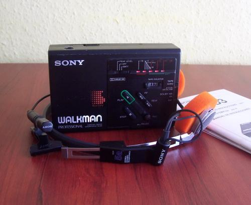 Sony walkman WM-D3 professional
