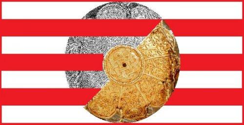 Mi ez? Szent István Nap jelképe/zászlaja
