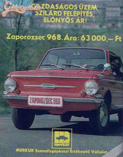Zaporozsec 968 Diósgyőrben