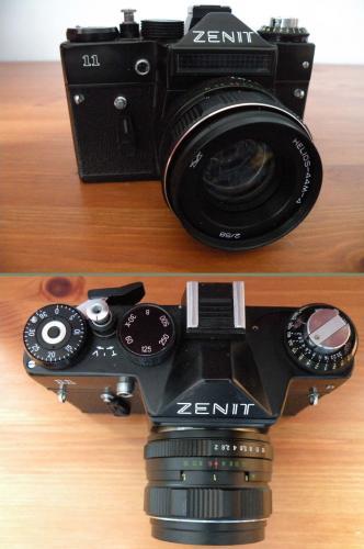 Zenit fényképezőgép 11