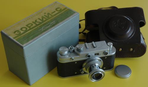 Zorkij C  fényképezőgép