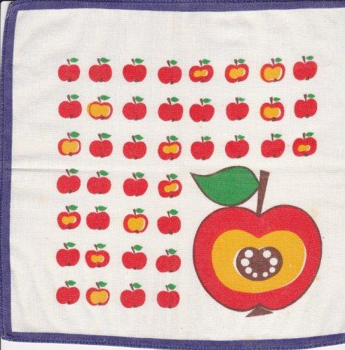 Gyümölcsös textil zsebkendők