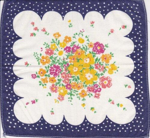Virágos zsebkendők