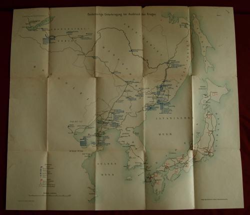 Ázsia térkép valamiféle katonai