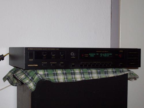 Videoton RT 7300 tuner