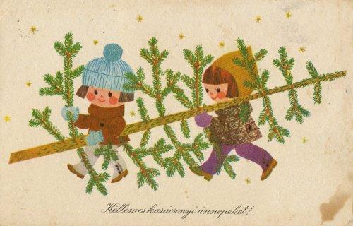 Karácsonyi üdvözletek negyven éve