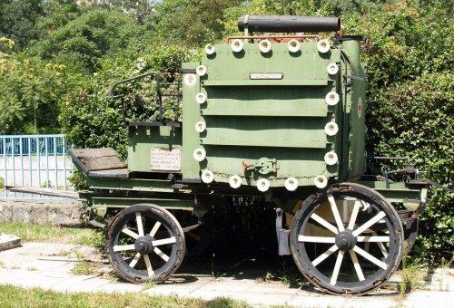 Lóvontatású fertőtlenítő kocsi