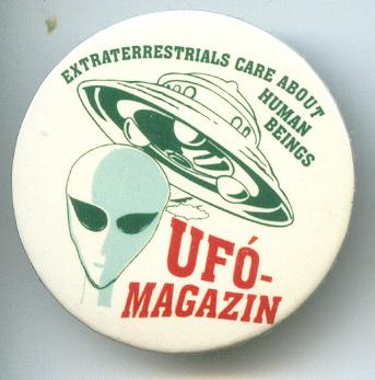 UFO kitűző (Ufómagazin)